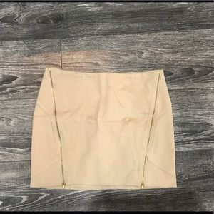 Dresses & Skirts - Mini skirt with zippers - new without tags